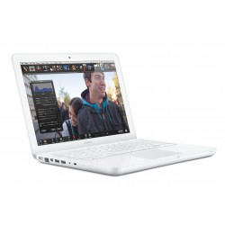 Apple Macbook White Unibody Eind 2009: Intel Core 2 Duo 2,26 Ghz, 240GB SSD, 2 GB Intern Geheugen, 6 Maanden Garantie!